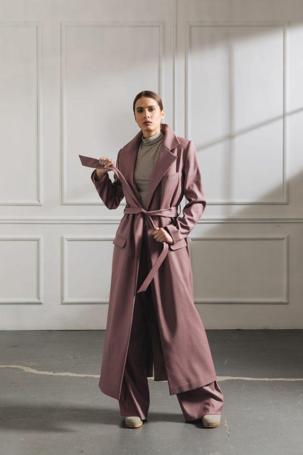 Lilac Trenchcoat