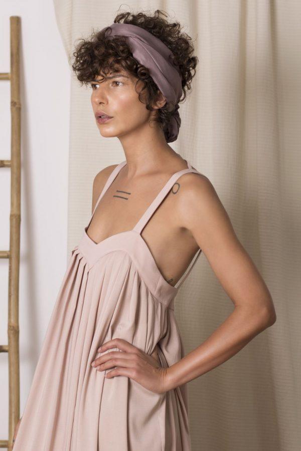 H3 Long Viscose Dress