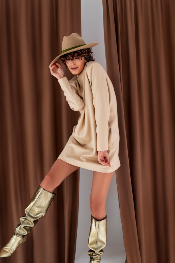 H4 Wool Dress